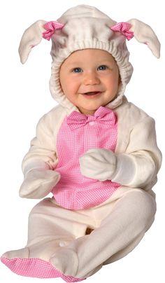 Disfraz de oveja para bebé. Disponible en www.vegaoo.es