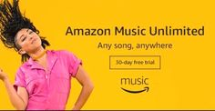 Try Amazon Music Unlimited 30-Day Free Trial! ➩➩      http://amzn.to/2pb6JbG