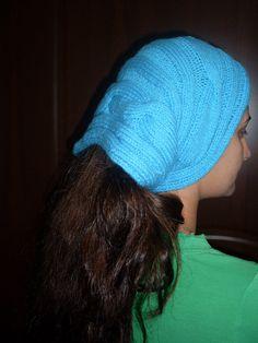 Usefull Hand knitting Scarf Turban collar Hair band by NesrinArt, $16.99