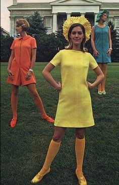 Retro Fashion Ever heard of designer, Mary Quant? - Ever heard of designer, Mary Quant? Style Année 60, Mode Style, Retro Fashion 60s, Vintage Fashion, 60s Inspired Fashion, 1960s Fashion Women, Robes Vintage, Vintage Outfits, Estilo Mod