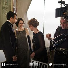 downton abbey, behind the scenes with lady mary