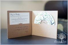CD packaging / eco friendly cd packaging