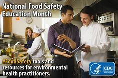 Explore CDC's #foodsafety tools and guidance, training, and research for environmental health practitioners.