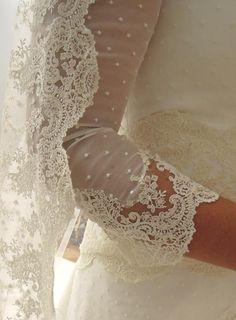 Mangas vestidos Alta Costura. Beatriz Alvaro