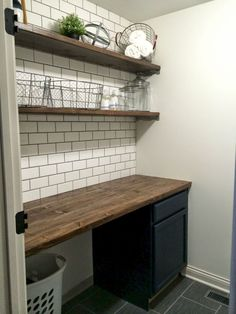 09 Modern Farmhouse Laundry Room Decor Ideas