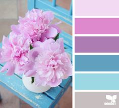 still life hues - color palette from Design Seeds