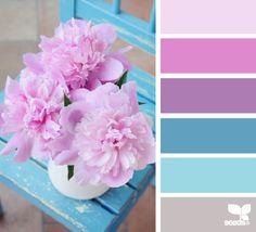 still life hues - design seeds