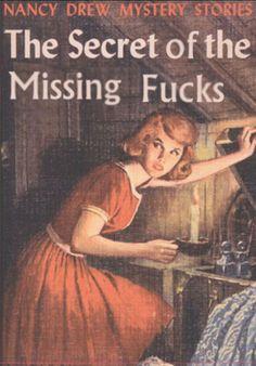 The secret of the missing fucks....Bahahahaha!!!!
