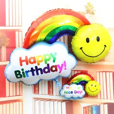 Large Size Smile Face Rainbow Globos Double Side Foil Balloons Happy Birthday Wedding Decoration Balls Have A Nice Day Kids Toys     Tag a friend who would love this!     FREE Shipping Worldwide     #BabyandMother #BabyClothing #BabyCare #BabyAccessories    Get it here ---> http://www.alikidsstore.com/products/large-size-smile-face-rainbow-globos-double-side-foil-balloons-happy-birthday-wedding-decoration-balls-have-a-nice-day-kids-toys/