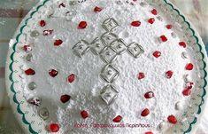 Κρητικά κόλλυβα Cypriot Food, My Cookbook, Kirchen, Vegan Recipes, Greek Recipes, Dairy Free, Decoupage, Food And Drink, Birthday Cake