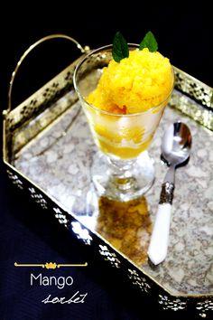 Mango Sorbet #chefmalhadinho