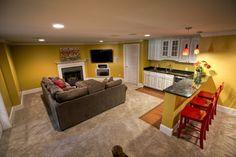 39 best finished basements images basement ideas basement rh pinterest com