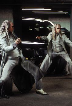 Neil & Adrien Rayment | The Matrix Reloaded