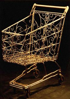 Super Shopping Trolley - by Baptiste Debombourg