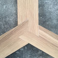 Three way lap joint by relm furniture.