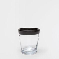 Billede af produktet: Glas med sort graffitidesign