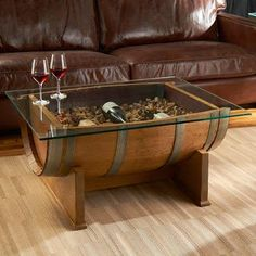 """The Wine Wankers on Twitter: """"""""@kwaggafs: Wine barrel coffee tables. @winewankers #wine http://t.co/2m2t8S0Uw0"""" Awesome collection! Anyone know where to get these from?"""""""