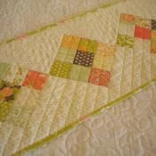 Simple 9-Patch Table Runner - via @Craftsy