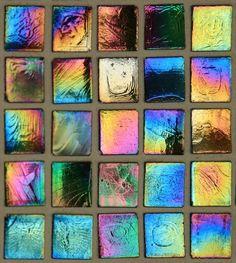 Iridescent Glass Tile-Multi
