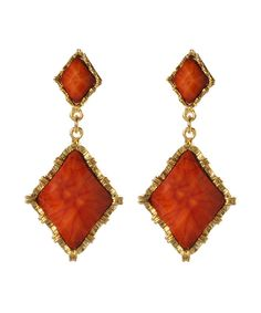 This Amrita Singh Coral Wainscott Drop Earrings by Amrita Singh is perfect! #zulilyfinds