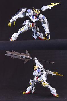 Custom Build: HG 1/144 Gundam Barbatos Lupus Rex