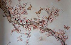 Цветочные барельефы на стене своими руками