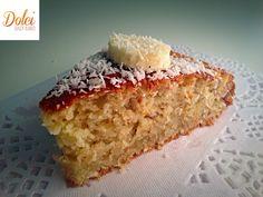 Torta di Banane e Cocco Senza Burro e Uova, il dolce leggero e goloso di dolci senza burro