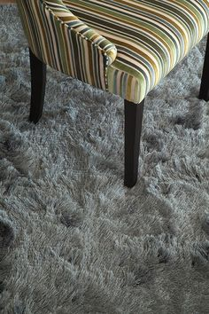 Beautiful Lux rug be Hertex. Available at our store. Visit us to view the colour options! Hertex Fabrics, Fabric Suppliers, Gray Bedroom, Vanity Bench, Ottoman, Upholstery, Living Room, Interior Design, Chair