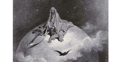 "Gustave Doré's Hauntingly Beautiful 1883 Illustrations for Edgar Allan Poe's ""The Raven"" – Brain Pickings"