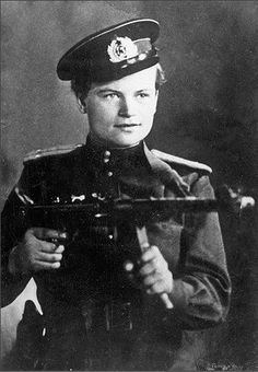 Yevdokiya Nikolayevna Zavaliy was a seventeen year old nurse during WWII. When she was mistaken for a man on the field, she decided to go along with it, and fought in several battles. Her superiors appointed her as the leader of a reconnaissance squad, and she became a sergeant and was seriously wounded (over the course of the war, she'd be wounded four times). She retained command even after her gender was discovered, and her machine gun platoon continued to participate in heavy fighti...