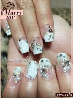 Bridal Gel Design Summer Nail Holiday Plaza McDonalds Upstairs 3rd Floor