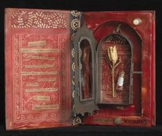Love this altered book.