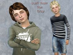 neissy's surf hair for boy