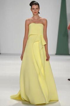 Carolina Herrera s/s 2015 New York