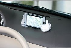 Mickey Mouse Car Mobile Phone Navigation Holder