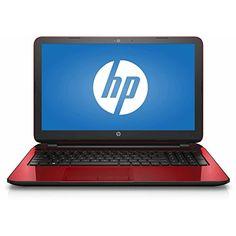 2016 HP Flyer Red 15.6 Inch Premium Flagship Laptop (Intel Pentium Quad-Core N3540 Processor up to 2.66GHz 4GB RAM 500GB Hard Drive DVD Drive HD Webcam Windows 10 Home) (Certified Refurbished)