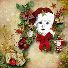 * Countdown to Christmas * by Designs by Brigit  http://www.digitalscrapbookingstudio.com/…/countdown-to-ch…/