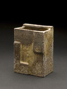 Yoh Tanimoto Hanging Vase, 2011 Fired Ceramic 5.5 x 4 x 3 inches 14 x 10.2 x 7.6 cm