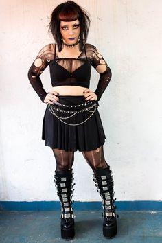 Sandila Vieira (Nox et Lux) / Goth / Heavy / Demonia Boots