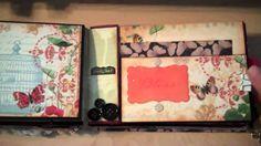 Mariposa Paper Bag album inspired by Kathyorta-SOLD