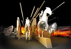War Horse: Fact & Fiction. Exhibition at London's National Army Museum by MET Studio.