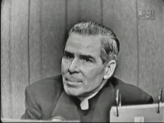 What's My Line? - Lerner & Loewe; Bishop Sheen; David Niven [panel