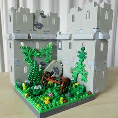 MOC noageforplay Ruin scene