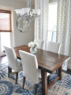 Megan of Honey We're Home shares the story behind her breakfast room, featuring our Benchwright table.