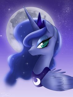 Luna looks beautiful...
