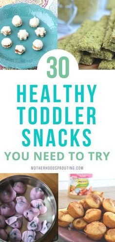 Learn the 30 healthy toddler snacks you need to try! These toddler snacks can be . Learn the 30 healthy toddler snacks you need to try! These toddler snacks can be combined to make healthy toddler meals as well! All these easy toddle. Healthy Toddler Snacks, Healthy Toddler Meals, Healthy Kids, Healthy Toddler Breakfast, Homemade Toddler Snacks, Healthy Meals For Toddlers, Healthy Snacks For Toddlers, Dinner Ideas For Toddlers, Being Healthy