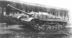 The 44M Zrinyi I tank-destroyer with 75-mm gun at the MAVAG factory