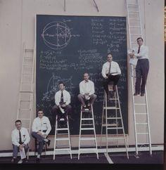 At NASA's Drawing Board - J. R. Eyerman