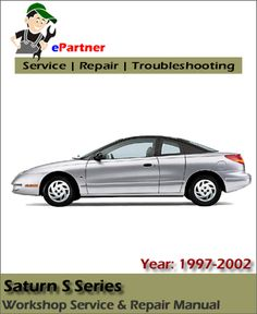 12 best saturn service manual images on pinterest repair manuals rh pinterest com 1997 Saturn 2 Door 1997 Saturn S-Series