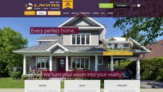 Clients http://lagois.com/ have a lot to show off! We redesigned their website to display their amazing renovations.
